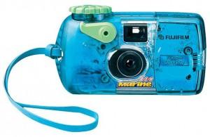 Одноразовый водонепроницаемый фотоаппарат для съёмки в воде