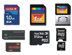 карты памяти фотоаппаратов