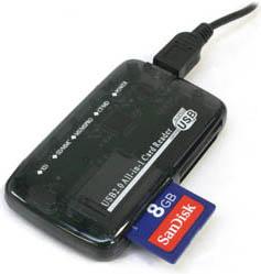 Кардридер - считывающее устройство карт памяти
