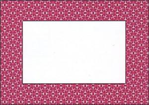 рамочка для фото-открытки